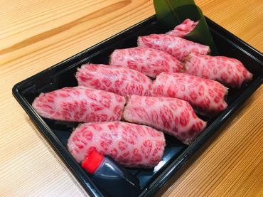握り寿司テイクアウト