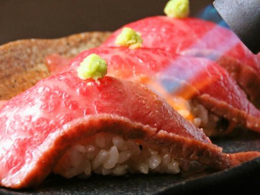 和牛握り寿司